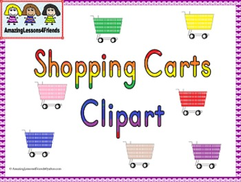 Shopping Carts Clipart