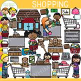 Kids Shopping Clip Art: Dramatic Play, Community, Math Theme