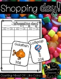 Shopping Day! Counting Like or Mixed Coins Activity