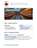 Shopping ESL Worksheet