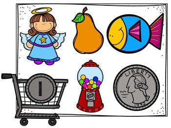Shopping For Beginning Sounds (Literacy Center & Pretend Play Resources)