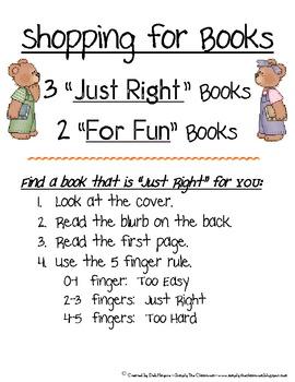 Shopping For Books Poster