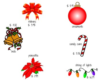 Shopping For Christmas/Holiday {Activity}