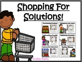 Shopping For Solutions {adding and subtracting whole numbe
