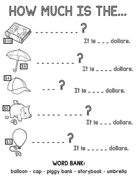 Shopping Fun Worksheet