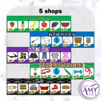 Shopping Game- Adding Small Amounts