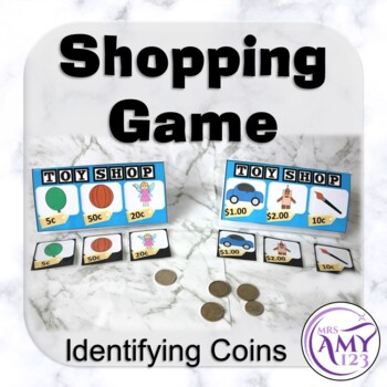 Shopping Game- Identifying Coins