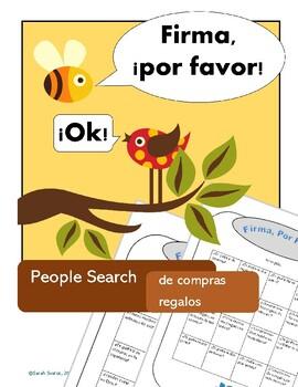 Shopping & Gifts, de Compras & Regalos: 2 Spanish Communicative Activities