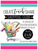 Shopping Guide for CreateTeachShare