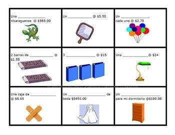 Shopping Images - Integrated Topic Flashcards