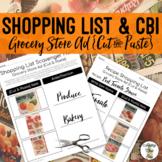 Shopping List Scavenger Hunt {Cut & Paste} Activity - Life Skills