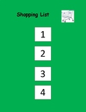 Shopping List Visual