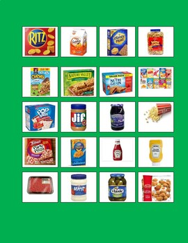 Shopping List Visual