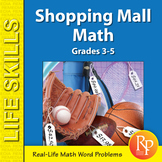 Consumer Math Word Problems: Shopping Mall Math