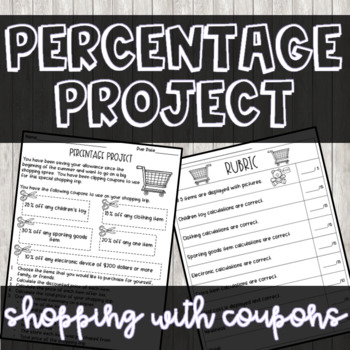 Shopping Percentage Project