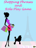 Shopping Phrases and Role Play Game