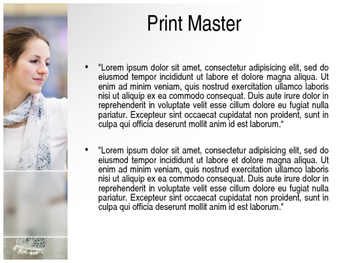 Shopping PowerPoint Template