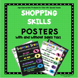 Shopping Skills Posters