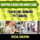 Shopping & Budgeting Money Game (Traveling Around Pittsburgh)