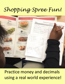 Shopping Spree Math