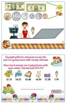 Shopping Spree - Money and Making Change