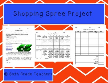 Shopping Spree Project