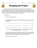Shopping Spree Project: Calculating Percent Discounts by M