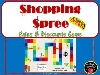 Shopping Spree - Sales and Discounts Game