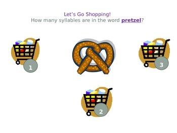 Shopping Syllables