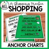 Shopping Anchor Charts A FREEBIE