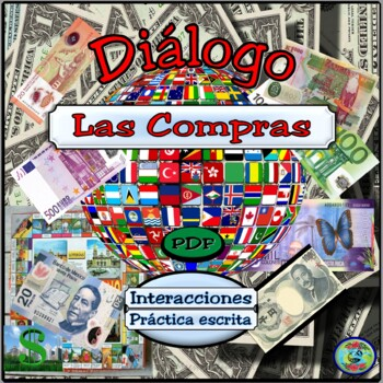 Shopping and Purchases Dialogue and Thematic Unit - Las compras y el regateo