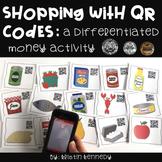 QR Code Math Center: Money