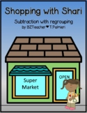 Shopping With Shari - subtraction with regrouping