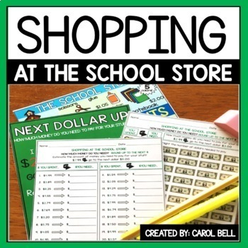 Shopping Worksheets No Regrouping