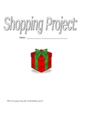 Shopping and Budgeting Math Project