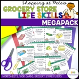 Special Education Grocery Store Activities for Functional Life Skills (autism)