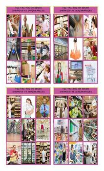 Shopping at Supermarkets Tic-Tac-Toe or Bingo