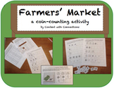 Shopping at the Farmers' Market: A Coin-Counting & Money Activity for Spring