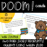 Shopping at the Toy Store - Adding Coins Within $1.00 - Di