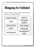 Shopping for Colloids!