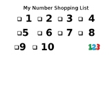 Shopping for Numbers