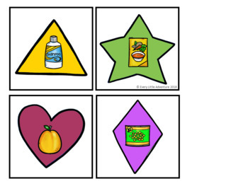Shopping for Shapes: Pre-K Shapes Games
