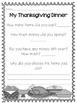 Shopping for Thanksgiving Dinner {A Math Activity}