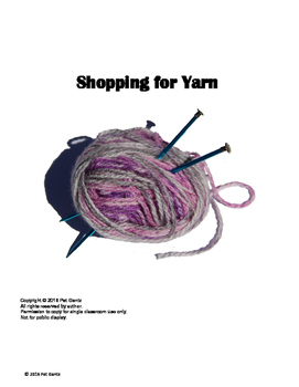Shopping for Yarn