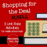 Shopping for the Deal Unit Rate Activity Bundle