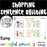 Shopping sentence buliding - writing using Colourful (colo