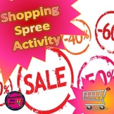 Shopping with discounts and sales tax - Financial literacy and distance learning
