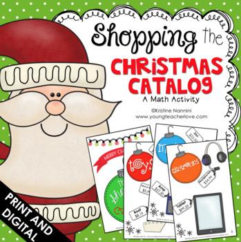 Christmas Math Project - Christmas Activities - Christmas Shopping Project
