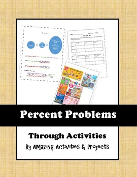 Learning Percent problems through activities