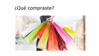 Shopping vocabulary in Spanish